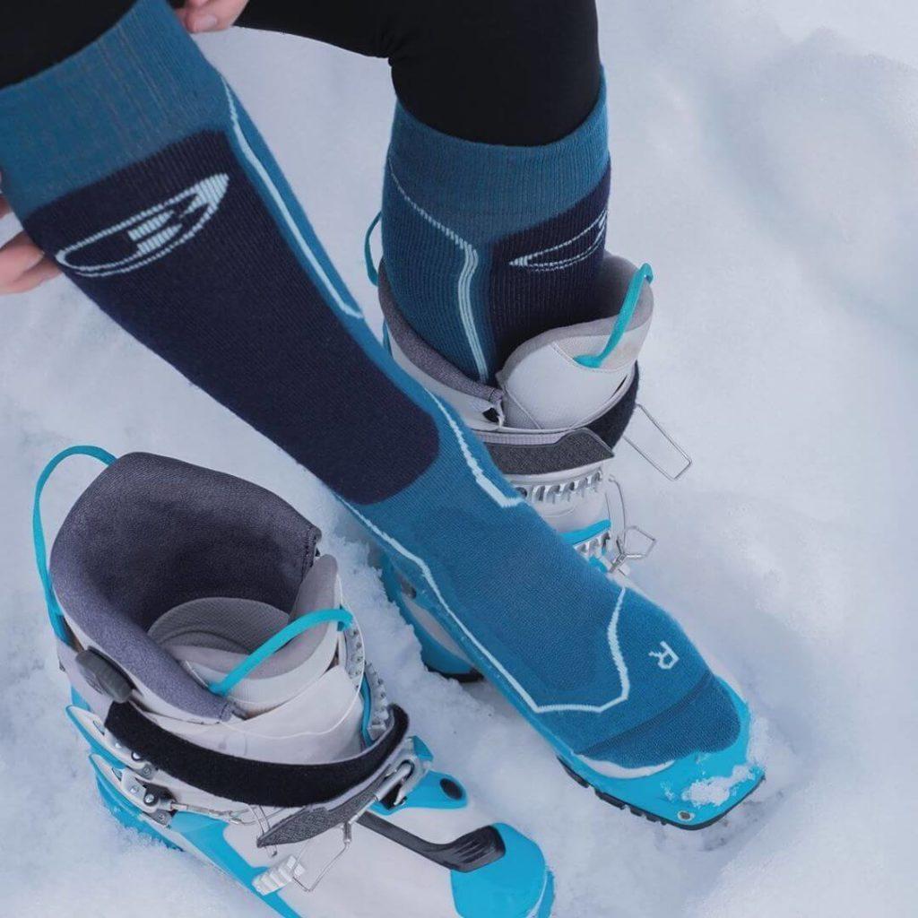 chaussettes de ski