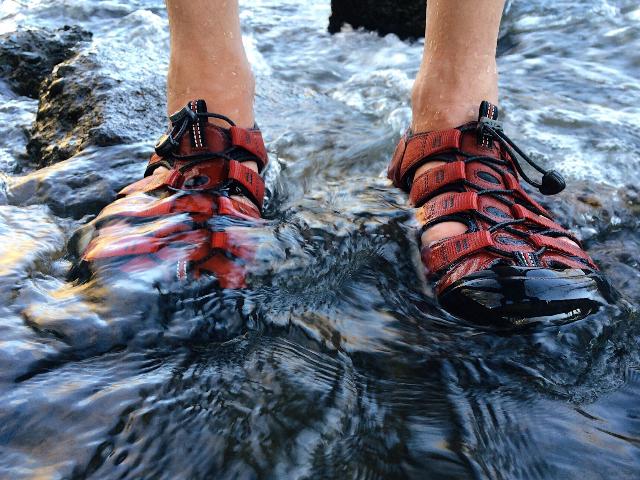 sandales-de-randonnée