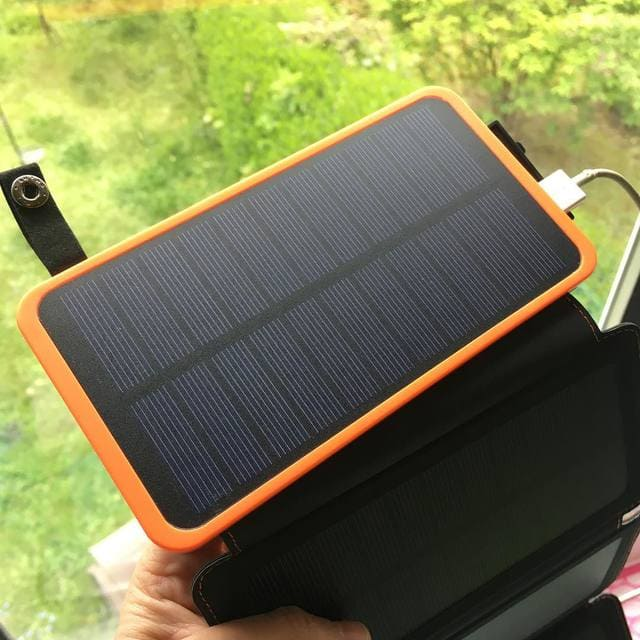 Chargeur-Solaire-Portable