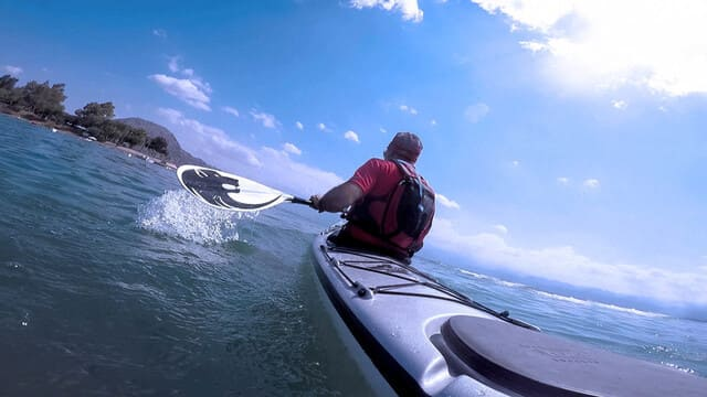 Kayak-de-mer