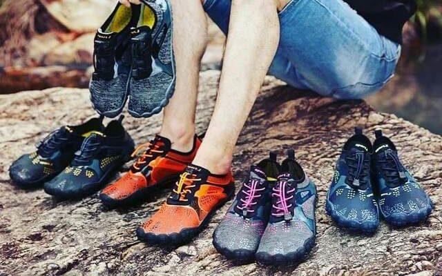 KUDICO Hommes Femmes Chaussures deau Chaussures Pieds Aqua /À S/échage Rapide Chaussures de Marche Plage Surf Athl/étisme Courir