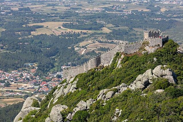 Le-chateau-de-Sintra